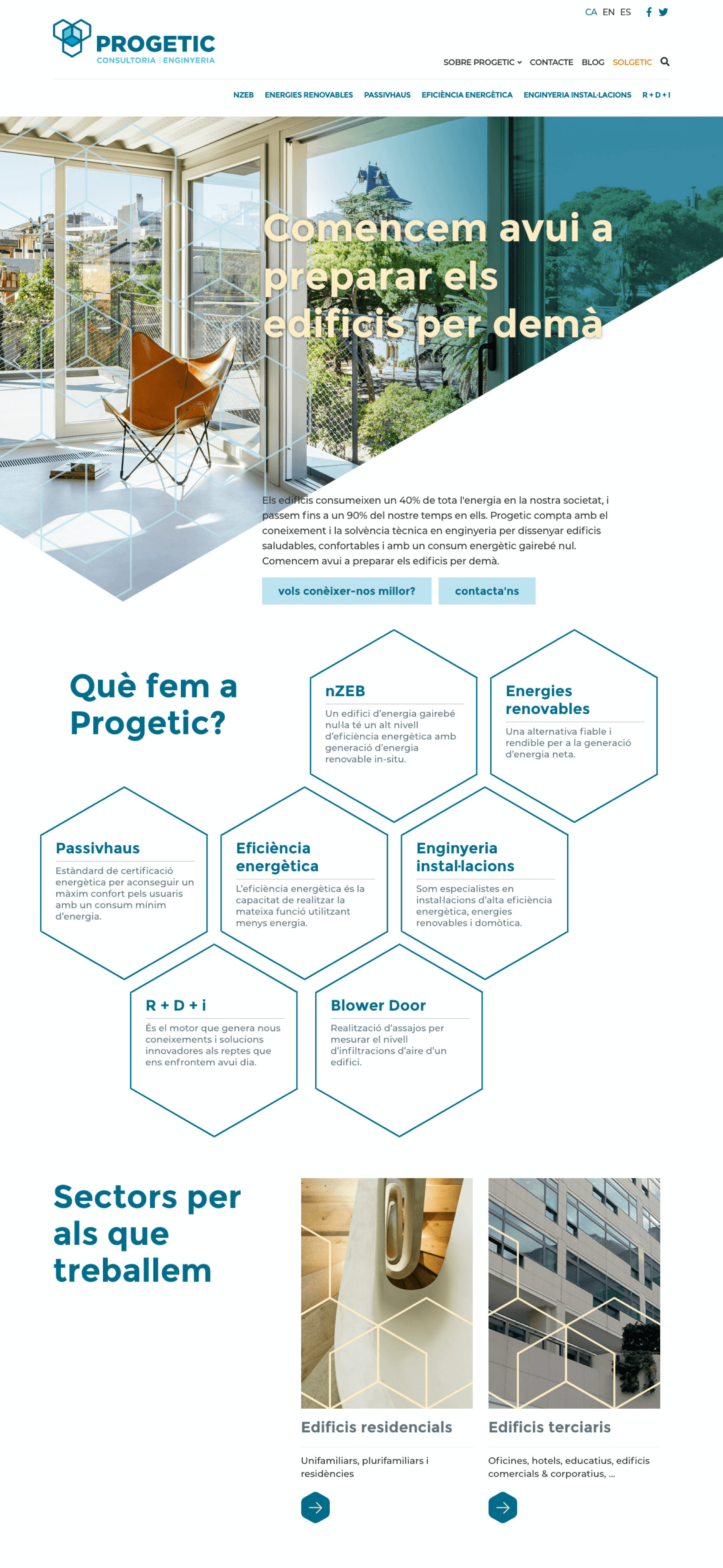 Web Progetic y Solgetic | Ideamatic