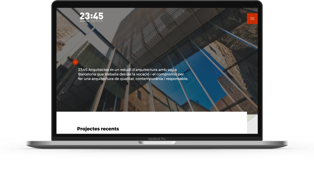 2345 Arquitectes web
